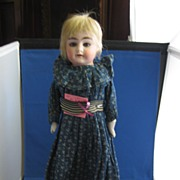 """Alma"" German Bisque Doll"