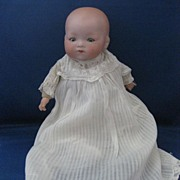 """Armand Marseille Bisque Baby Doll """"Our Pet"""""""