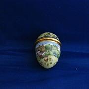 Bilston & Battersea Enamel 1980 Easter Egg Enamel