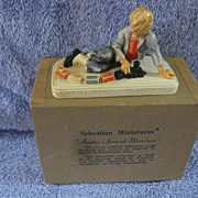 "Sebastian Miniatures  ""Colonial Watchman"