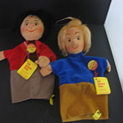 Max and Moritz Steiff Puppets