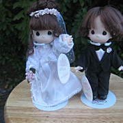 Precious  Moments  Bride And Groom  Doll