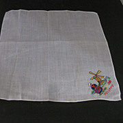 Child's  Handkerchief  from  Holland