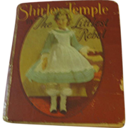 Shirley Temple in The Littlest Rebel  Book