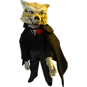 SOLD Wolf Doll