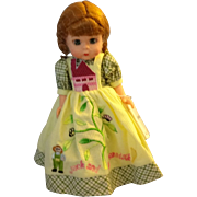 "Madame Alexander Vinyl Doll ""Jack in the Beanstalk"""