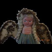 Vintage Flirty Eyed Angel  Doll