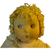 "Madame Alexander  Cloth Doll ""SoLite"""