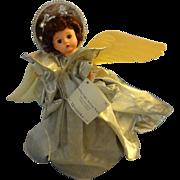 SOLD Madame Alexander Sterling Bright, Sterling Light Angel  Tree Tooper