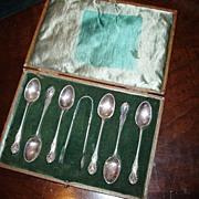 Antique Mazarin Dommick & Haff 1892 Demitasse Spoons