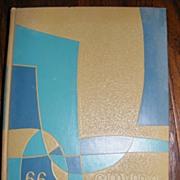 1966 LSU Louisiana State University Gumbo Yearbook
