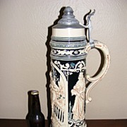 "SALE Vintage Monumental German Beer Stein 21"" tall"