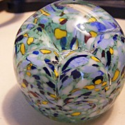 SOLD Gentile Glass vintage Paperweight