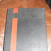 1934 Rice University Yearbook, Houston, Tx.