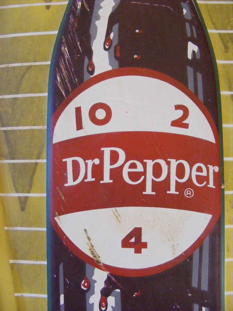 Vintage Dr Pepper Sign 98
