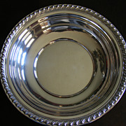 "SALE Wallace Halifax Sterling Silver Serving Bowl 10"" diameter H102"