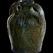 19th Century French Walnut Oil Jar / Jug - Antique Cruche / Pot