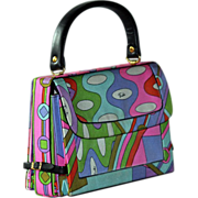 SOLD Vintage 1960s Pucci Handbag - Purse Bag