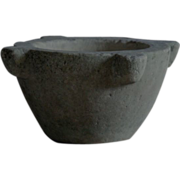 SOLD Antique Stone Mortar LARGE - 18th / 19th C Italian Marble Mortar - Red Tag Sale Item
