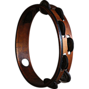 Antique Balkan Ottoman Tambourine