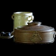 Antique Victorian English Salt-Glazed Stoneware WATER Purifier / Filter - Crock
