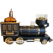 "Choo Choo! ""Iron Horse"" Train Engine Bar Set"