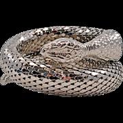 Single-Coil Whiting & Davis Snake Bracelet