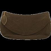 Genuine Corde ca. 1930s Black Handbag