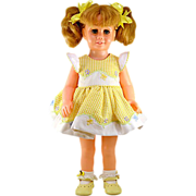 1961 Original American Blonde Talking Chatty Cathy Doll