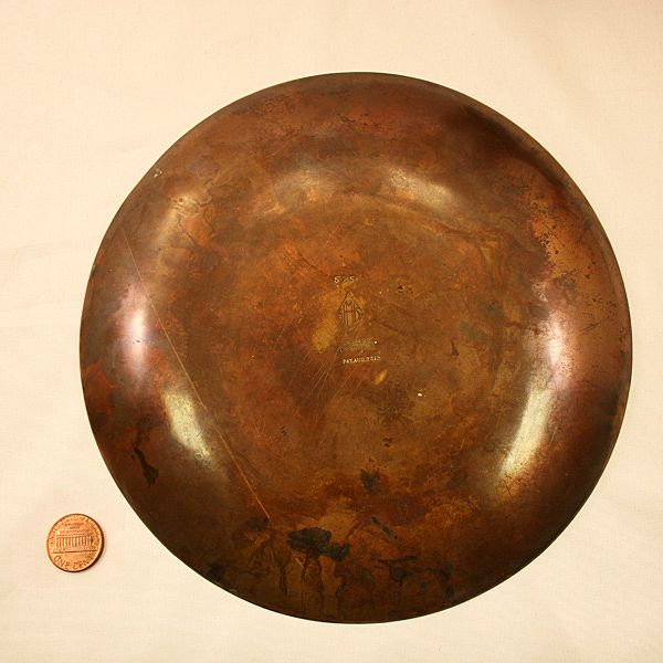 Extraordinary Vintage Heintz Sterling Silver On Bronze Plate From Easterbelles