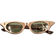 Vintage French Cat Eye Sunglasses