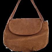 Timeless Vintage Bottega Veneta Suede Handbag
