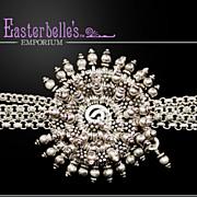 OOAK Intricate Susan Davison Quality Heavy Sterling Silver .925 Bracelet