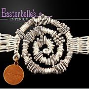 """Spectacular OOAK Susan Davison Sterling Silver """"Dream"""" Bracelet"""