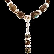 Beautiful OOAK Susan Davison Labradorite Necklace