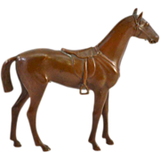 SOLD Lovely Jennings Brothers Bronze Finished Horse Figurine