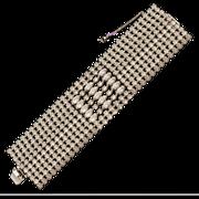 Exquisite 1950s  Weiss Rhinestone Bracelet