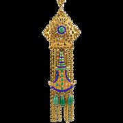 Stunning Statement Piece Vintage Boucher Necklace