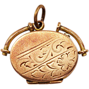 Highly Collectible Bliss Brothers 9K GP Vintage Locket
