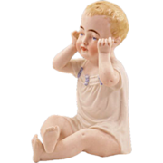 "Beautiful Antique Porcelain ""Piano Baby"""