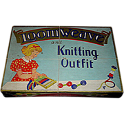 "SOLD Vintage Game, ""Loom Weave and Knitting Outfit"", Standard Toycraft Products, Inc"