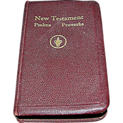 SALE New Testament, copyright 1941, Vest or Pocket Size