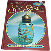 SALE Collectible salt shaker Book, The World of Salt Shakers, Shroeder Publishing, 2nd editon,