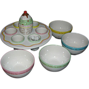 SALE Ice Cream Party Set by Arco