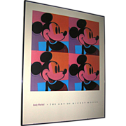 SALE Print:Andy Warhol Foundation, The Art of Mickey Mouse, Disney, No. 885, 1981