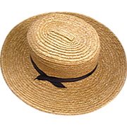 SOLD Genuine Vintage Amish Man's Hat out of Lancaster Valley, PA.