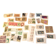 SOLD Lot of 35 plus some, USA and Canada canceled stamps