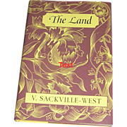 SOLD Collector Edition Book: The Land and the Garden, Vita Sakeville West, 1989