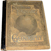SALE Swintons Geography Primer, dated 1979, Ivison Blakeman Taylor Co. color plates, New York,