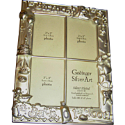 SALE Picture Album, Baby's First, velvet lined, silverplate, never used! exc.